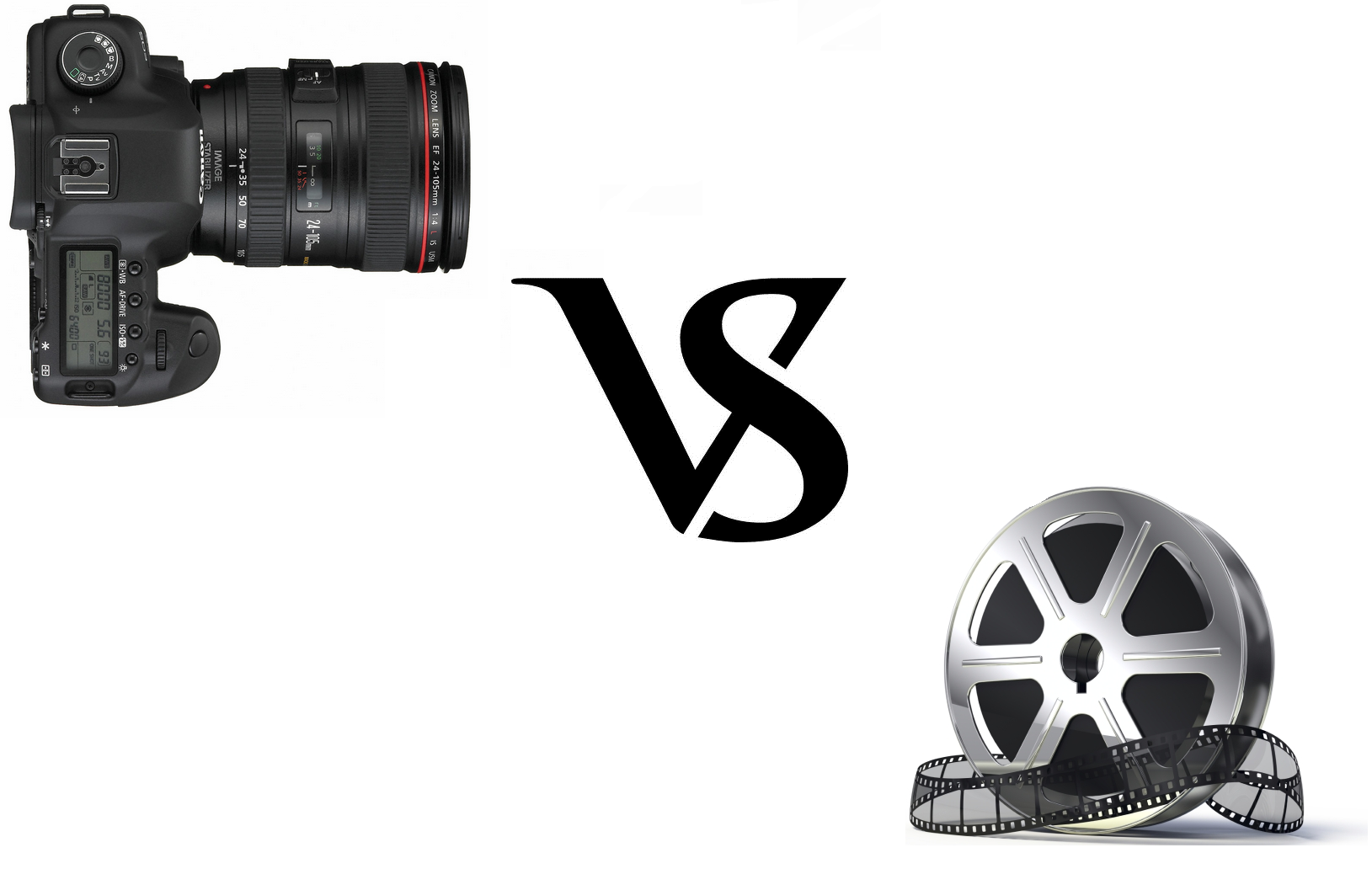 Pellicule VS 5D Mark II
