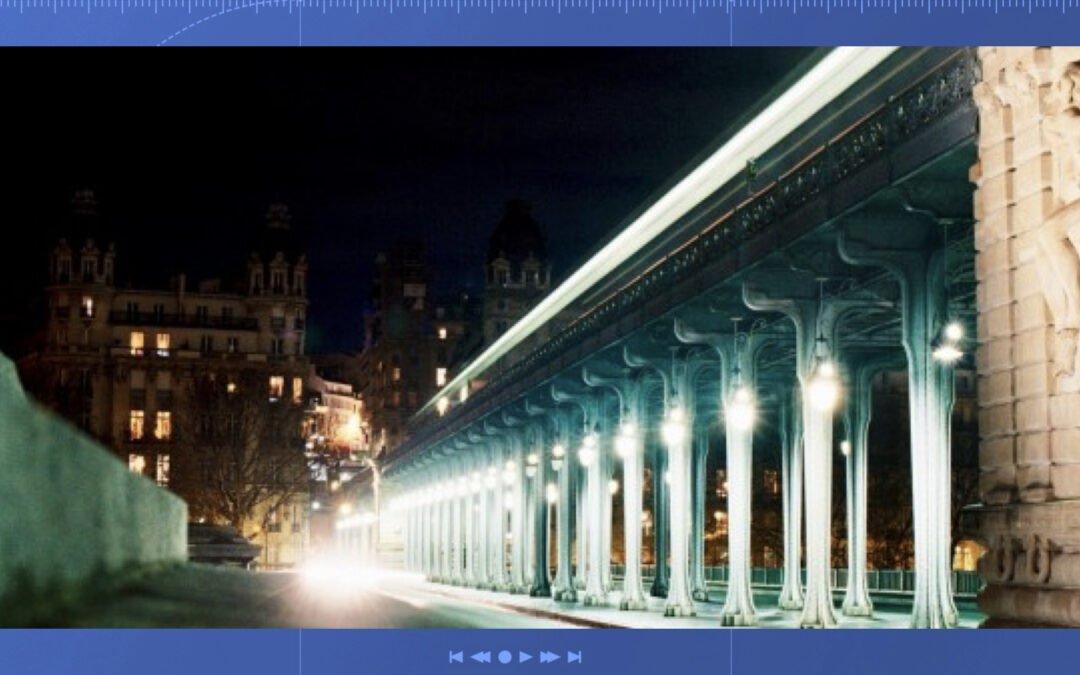 ville filmée la nuit