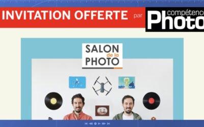 Invitations offertes au Salon de la photo