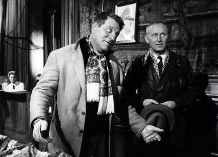 la traversŽe de paris 1956 rŽal : Claude Autant Lara Bourvil Jean Gabin Collection Christophel