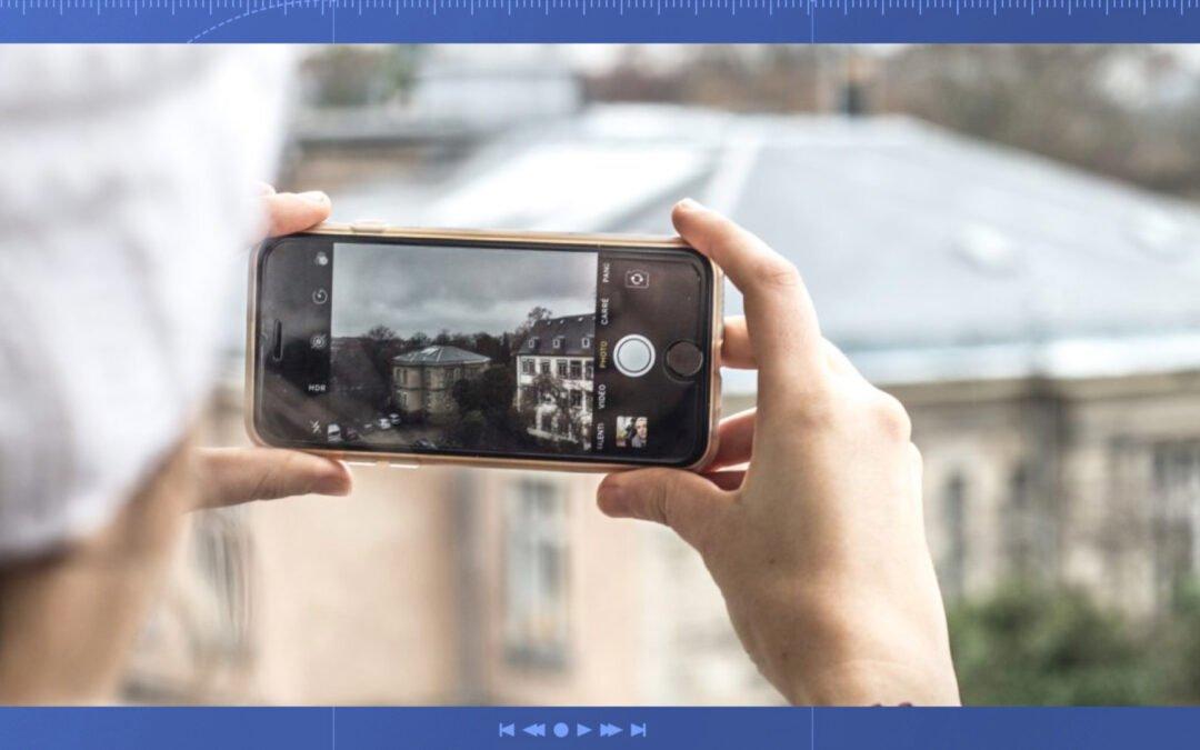 filmer avec son téléphone